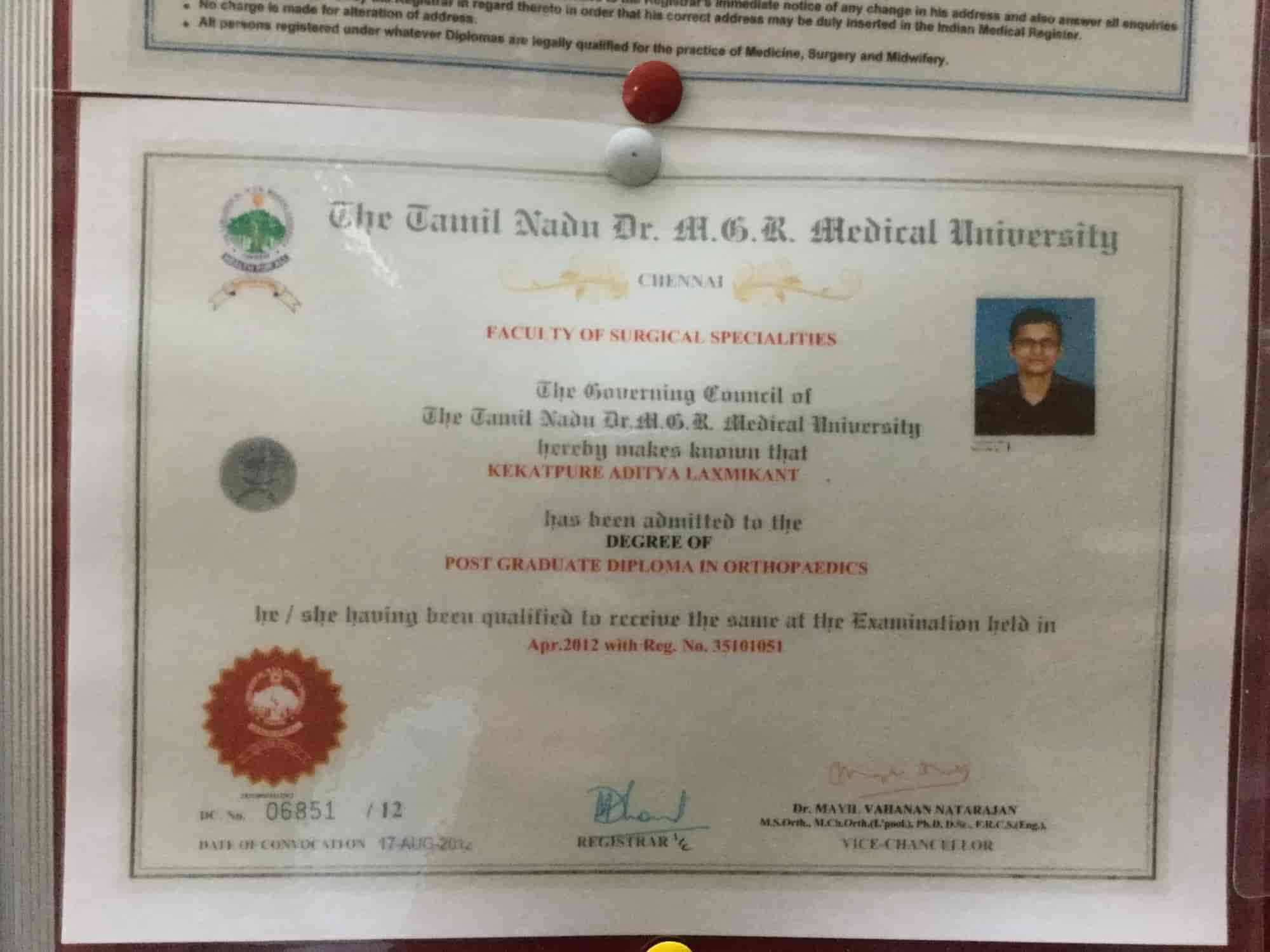 Advanced Orthopaedic Clinic Photos, Dharampeth, Nagpur