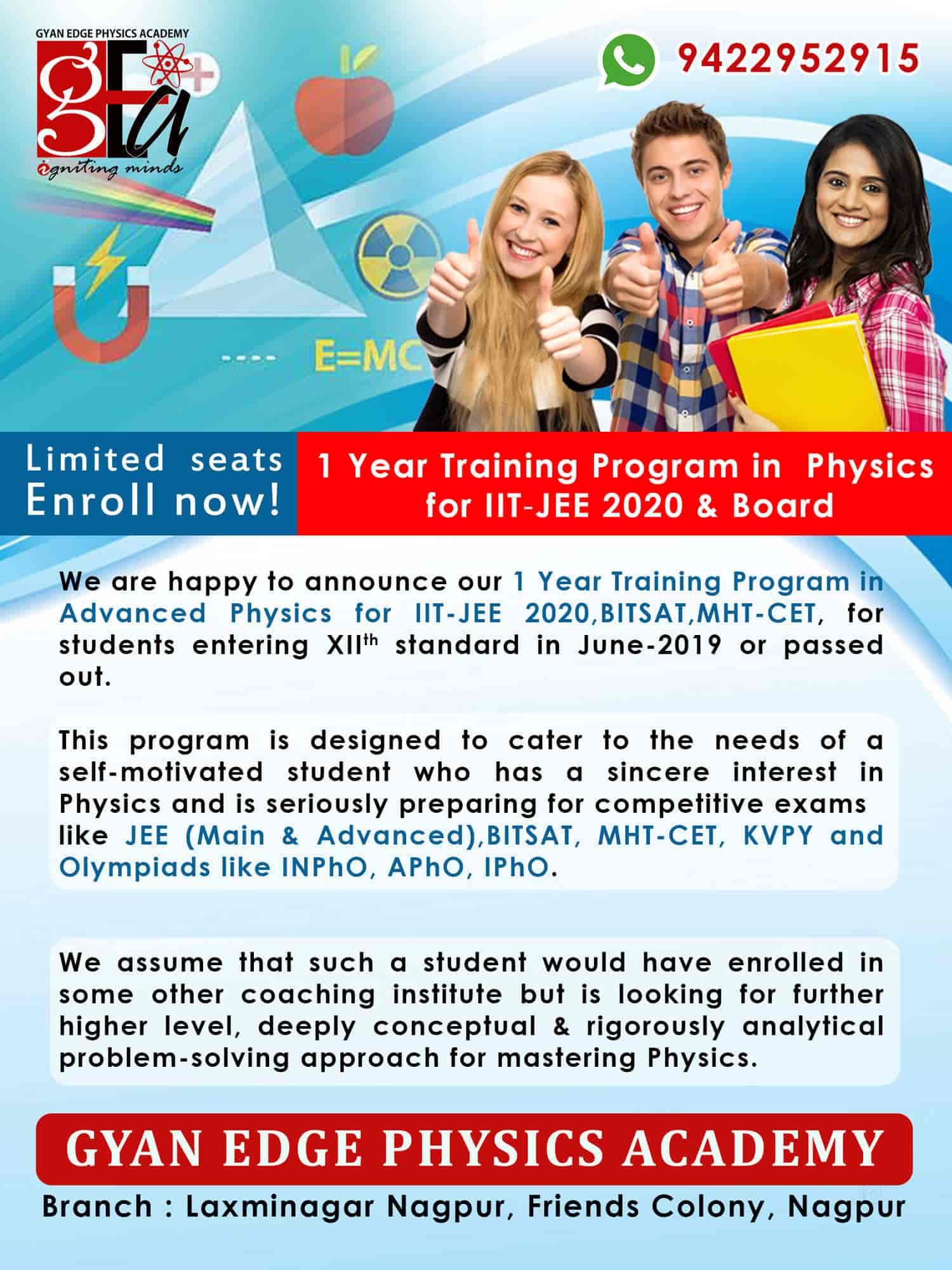 Gyan Edge Physics Academy Photos, Laxmi Nagar, Nagpur- Pictures