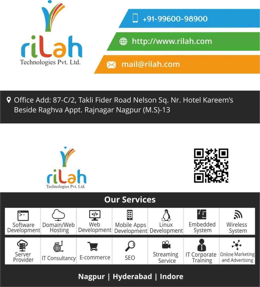Our services - Rilah Technologies Pvt. Ltd. Images, Raj Nagar, Nagpur - Software Companies