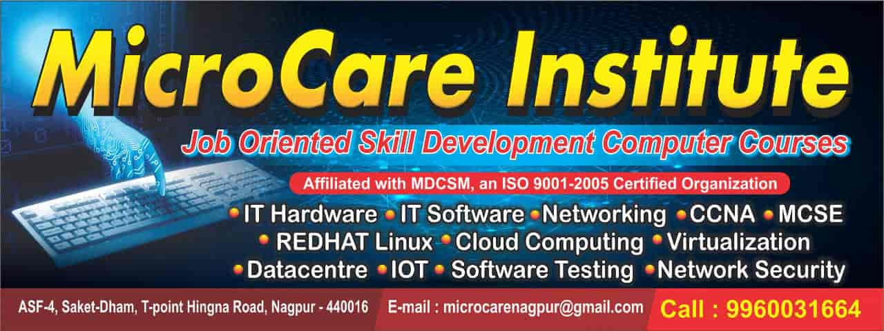 MicroCare Institute, Hingana Road - Computer Hardware Training