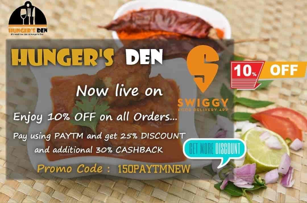 Hungers Den, Nelco Society, Subhash Nagar, Gayatri Nagar, Nagpur