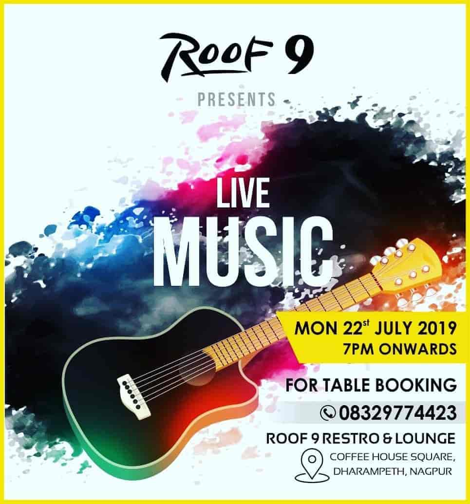 Roof 9 Family Restro Lounge, Dharampeth, Nagpur - Fast Food