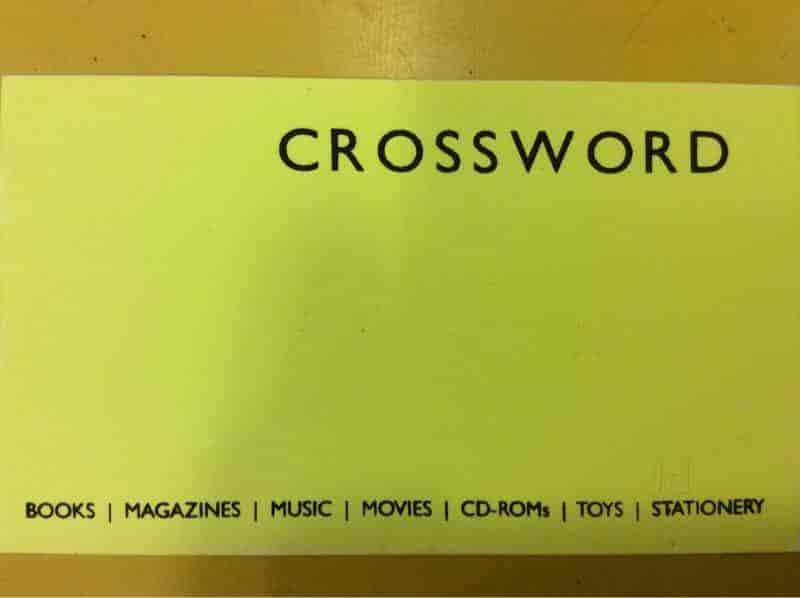 Crossword Bookstore Logo