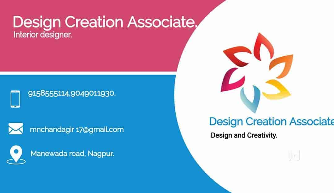 Visiting Card - Design Creation Associates Images, Manewada Road, Nagpur - Interior Designers