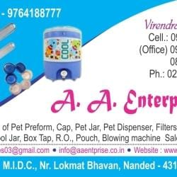 A A Enterprises, Nanded MIDC - Plastic Manufacturers in