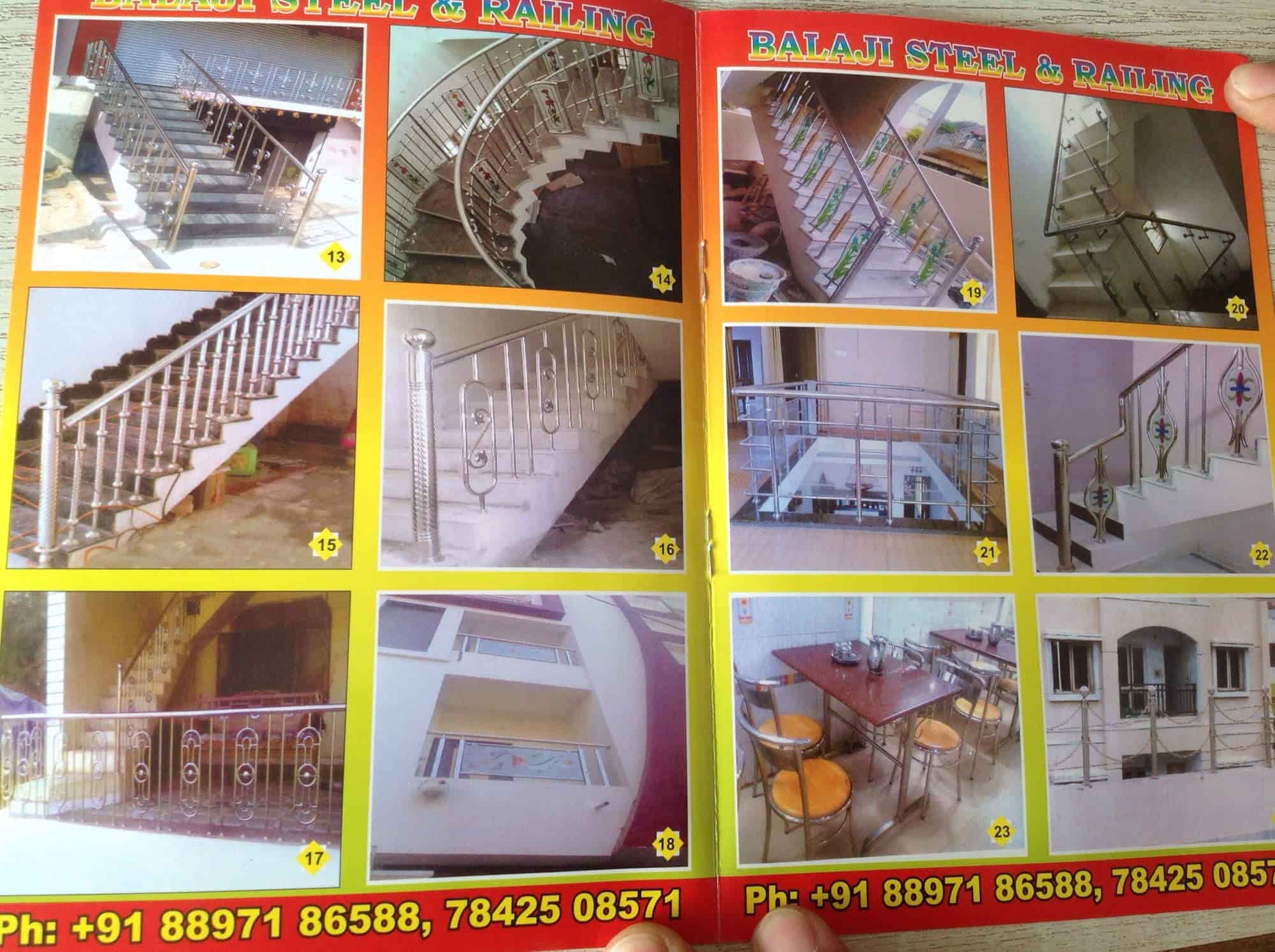 Balaji Steel & Railing, Atmakur Road - Aluminium Railing Dealers in