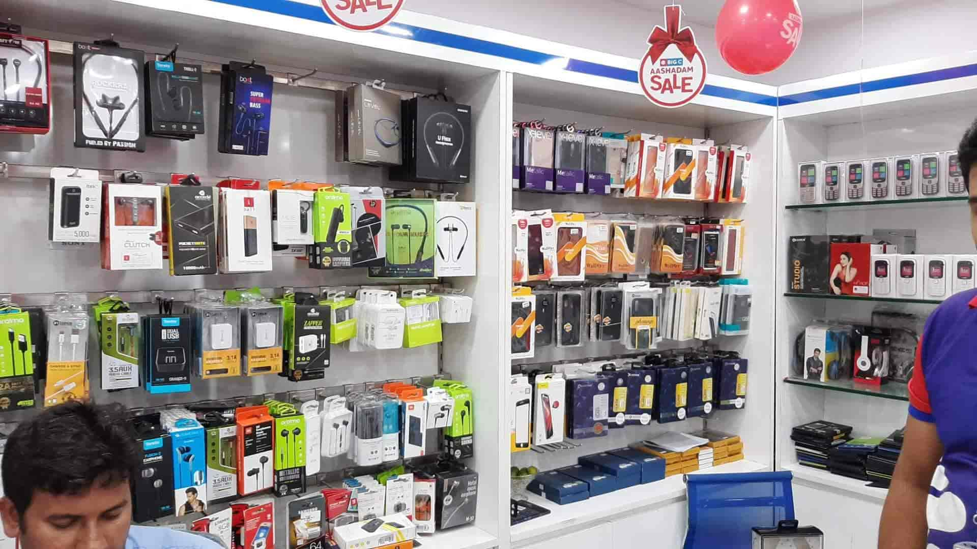 Big C Multibrand Mobile Showroom, Narasaraopet Bazar