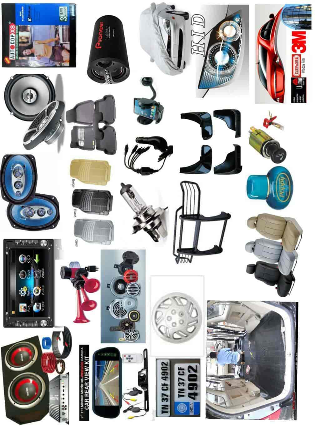 Maharashtra Car Accessories And Car Decor Dwarka Car Accessory Dealers In Nashik Justdial