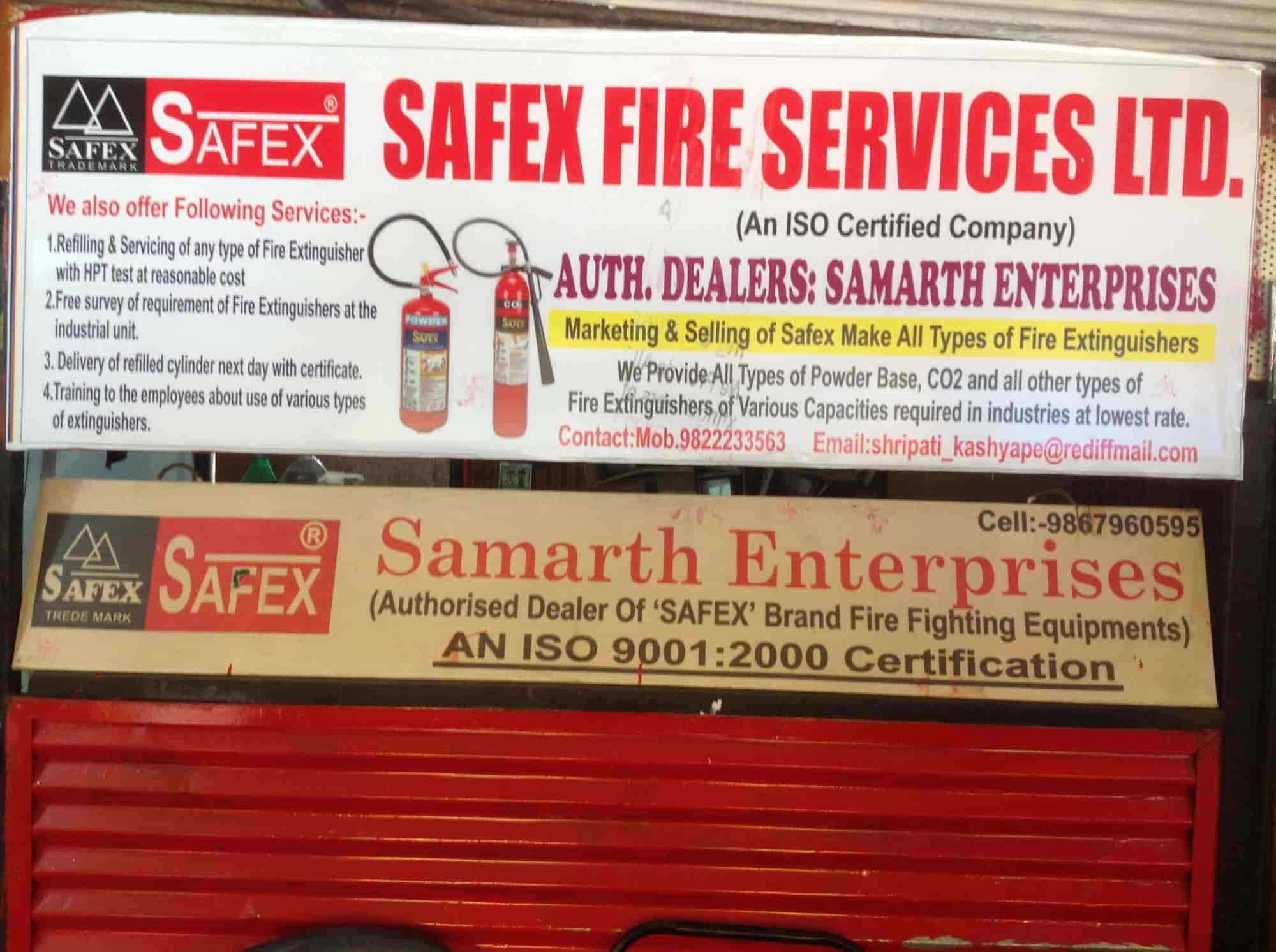 Samarth Enterprises, Satpur - Fire Extinguisher Dealers in