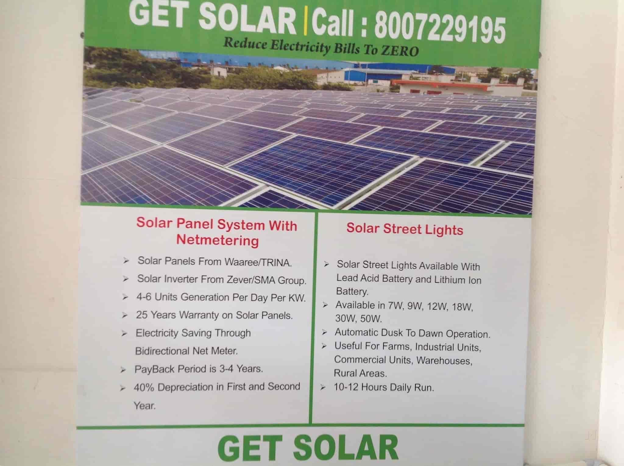 Get Solar - Bosch Solar Dealer, Indira Nagar Nashik - Solar