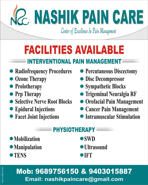 Dr  Vishal Gunjal (Nashik Pain Care) - General Physician