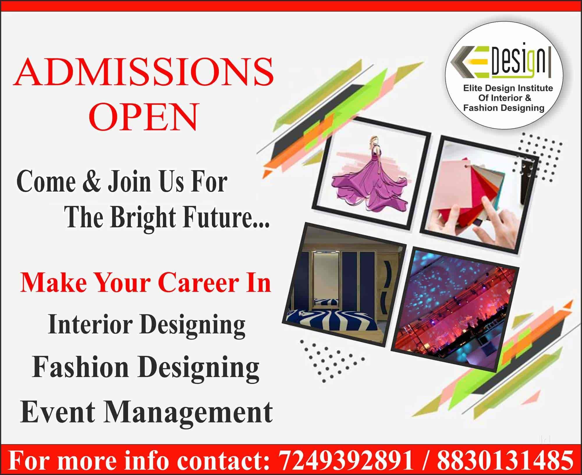 Elite Design Institute Of Interior Fashion Designing Rane Nagar Colleges In Nashik Justdial
