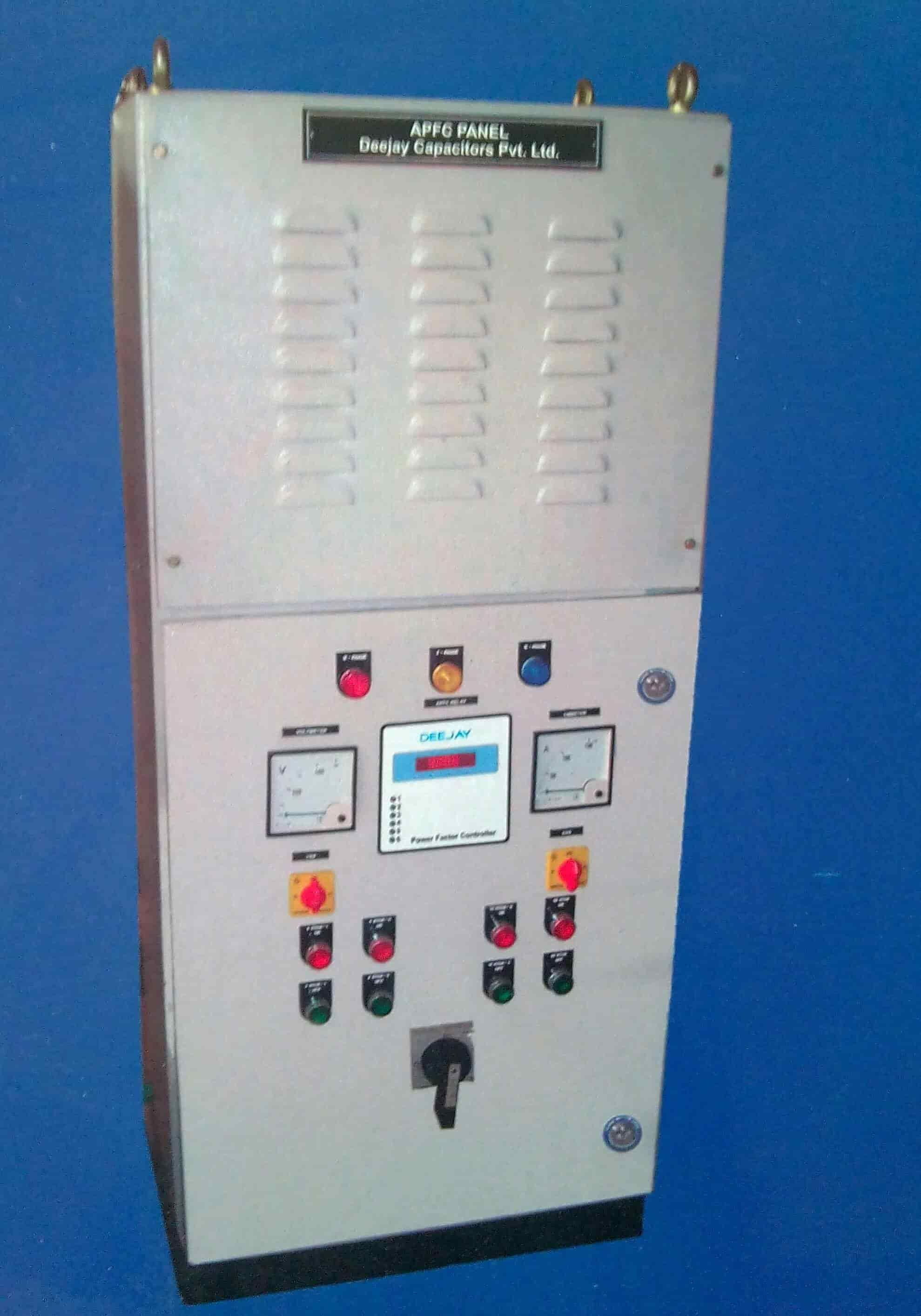 Deejay Capacitors Pvt  Ltd , Ambad - Electrical Control Panel