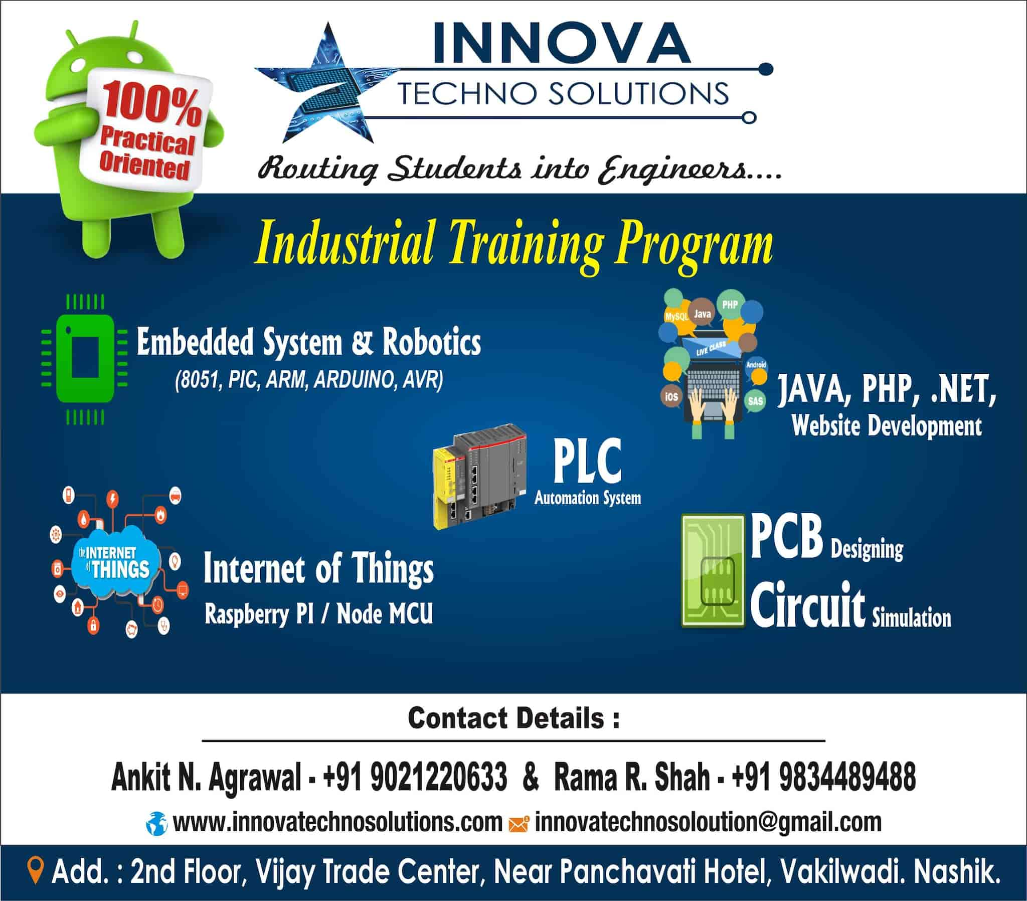 Innova Techno Solutions Photos, , Nashik- Pictures & Images Gallery