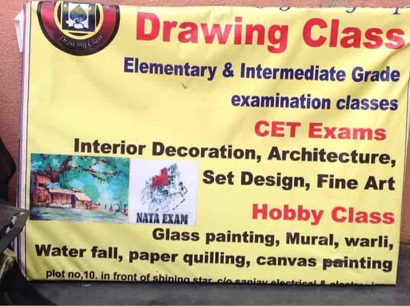 Colour King Art Group Drawing Class Photos, Panchavati