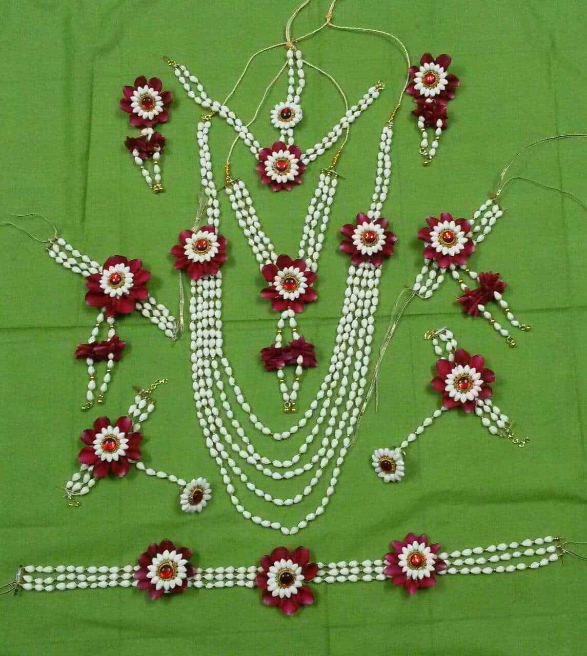 Royal Blooms Floral Jewels Panvel Flower Jewellery Manufacturers