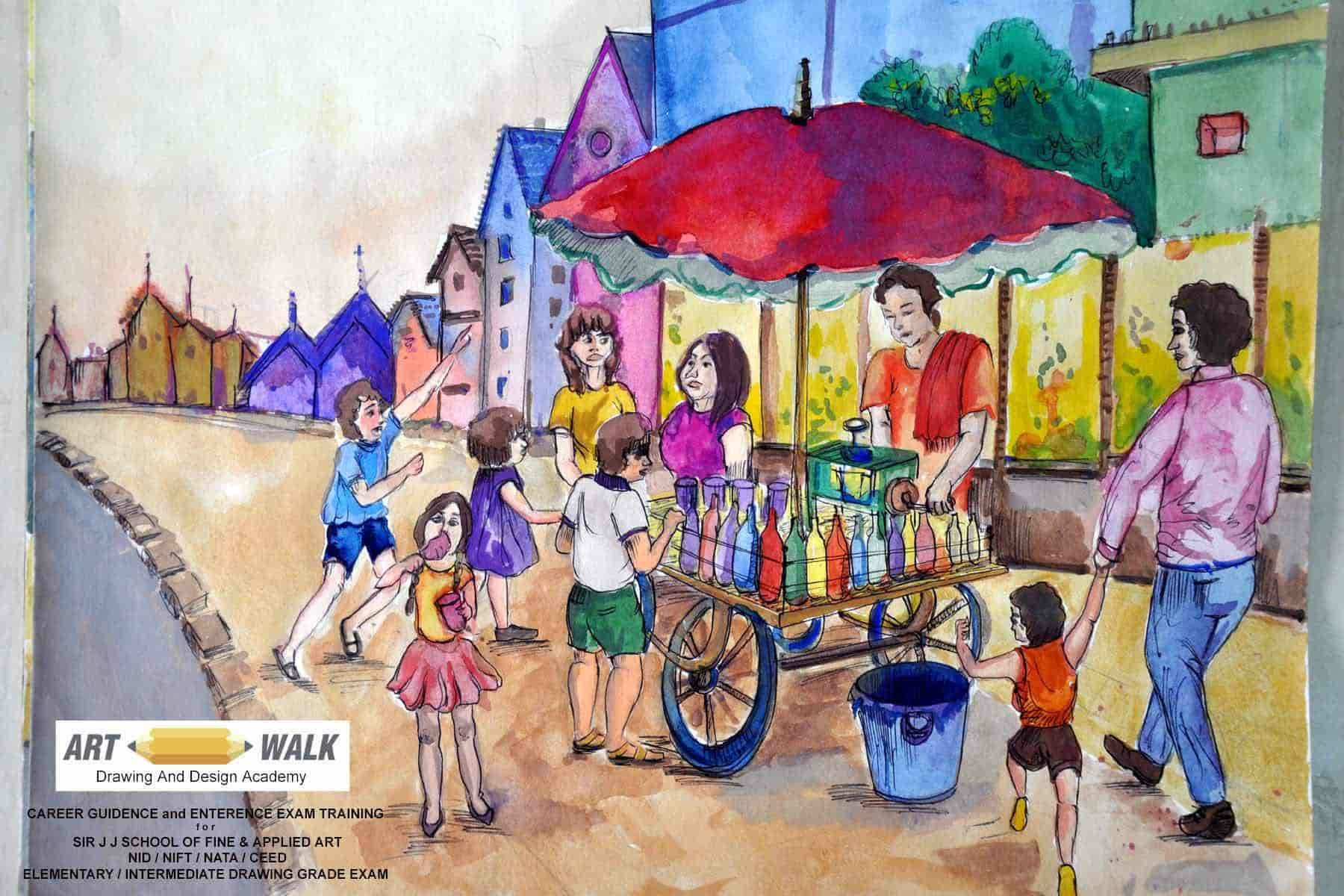 Artwalk Drawing and Design Acadamy, Nerul - Drawing Classes