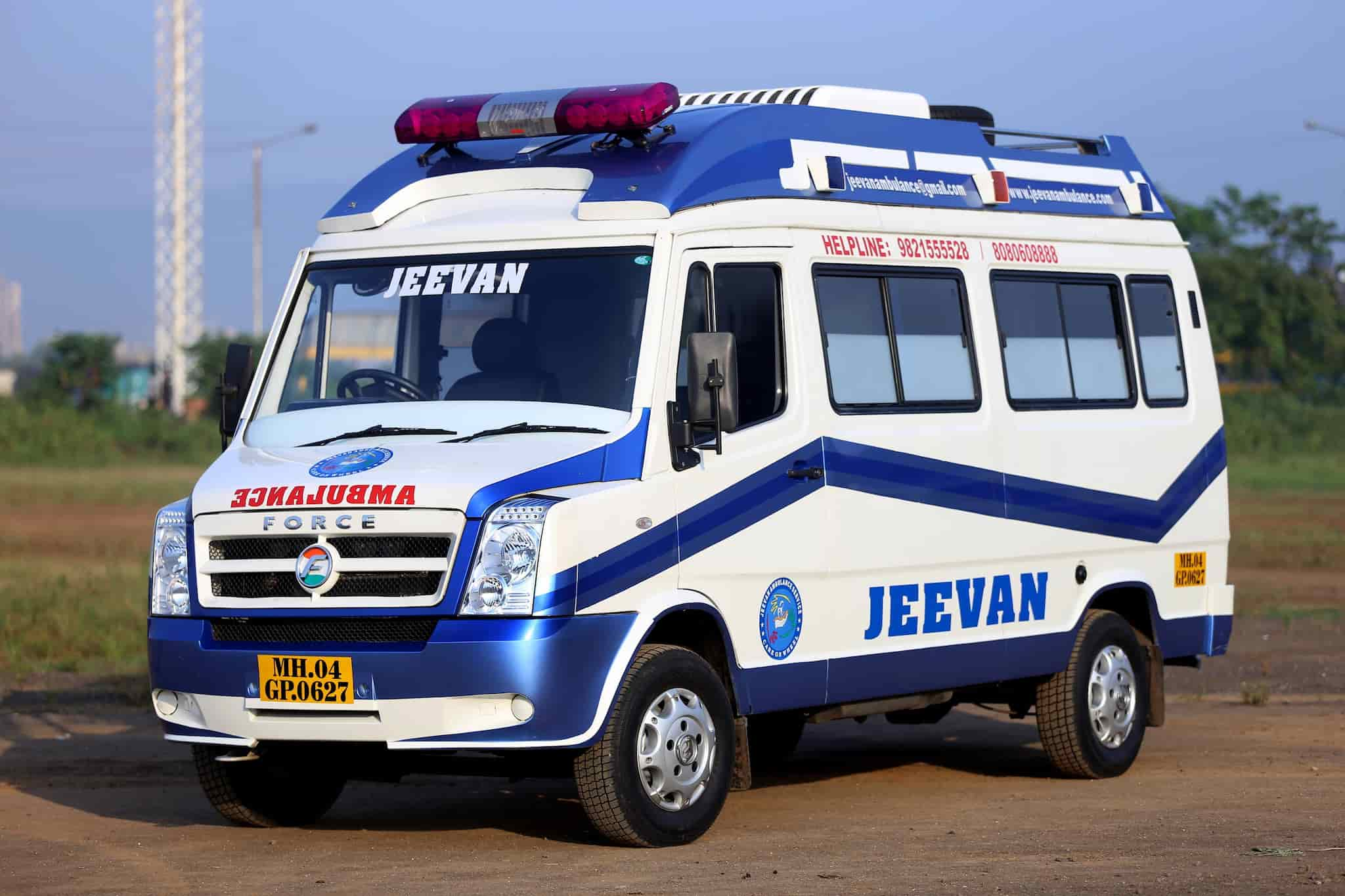 Ambulance Images jeevan ambulance service photos, nerul, thane- pictures & images