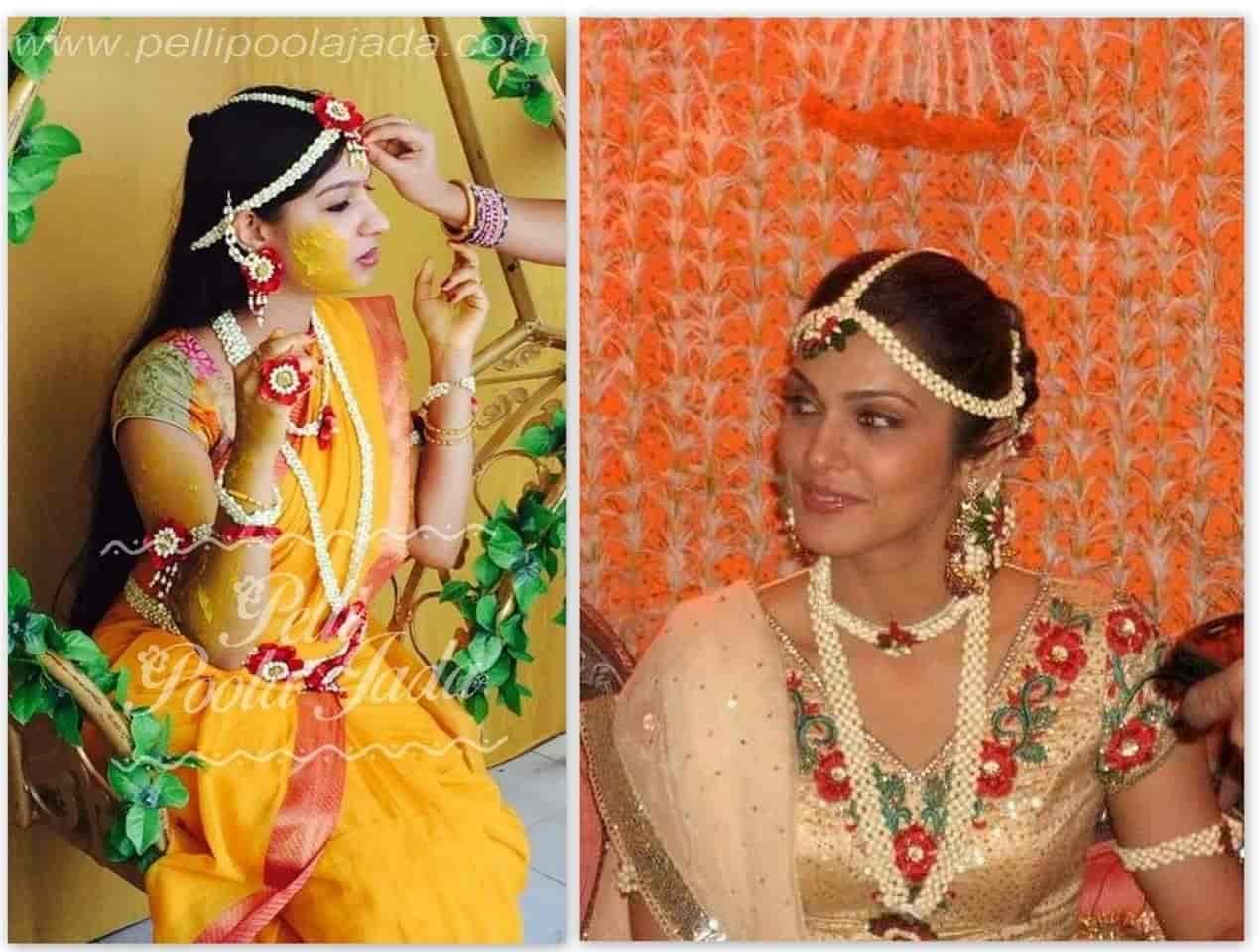 Flower Jewellery For Mehndi Uk : Anoo flower jewellery kharghar sector 10