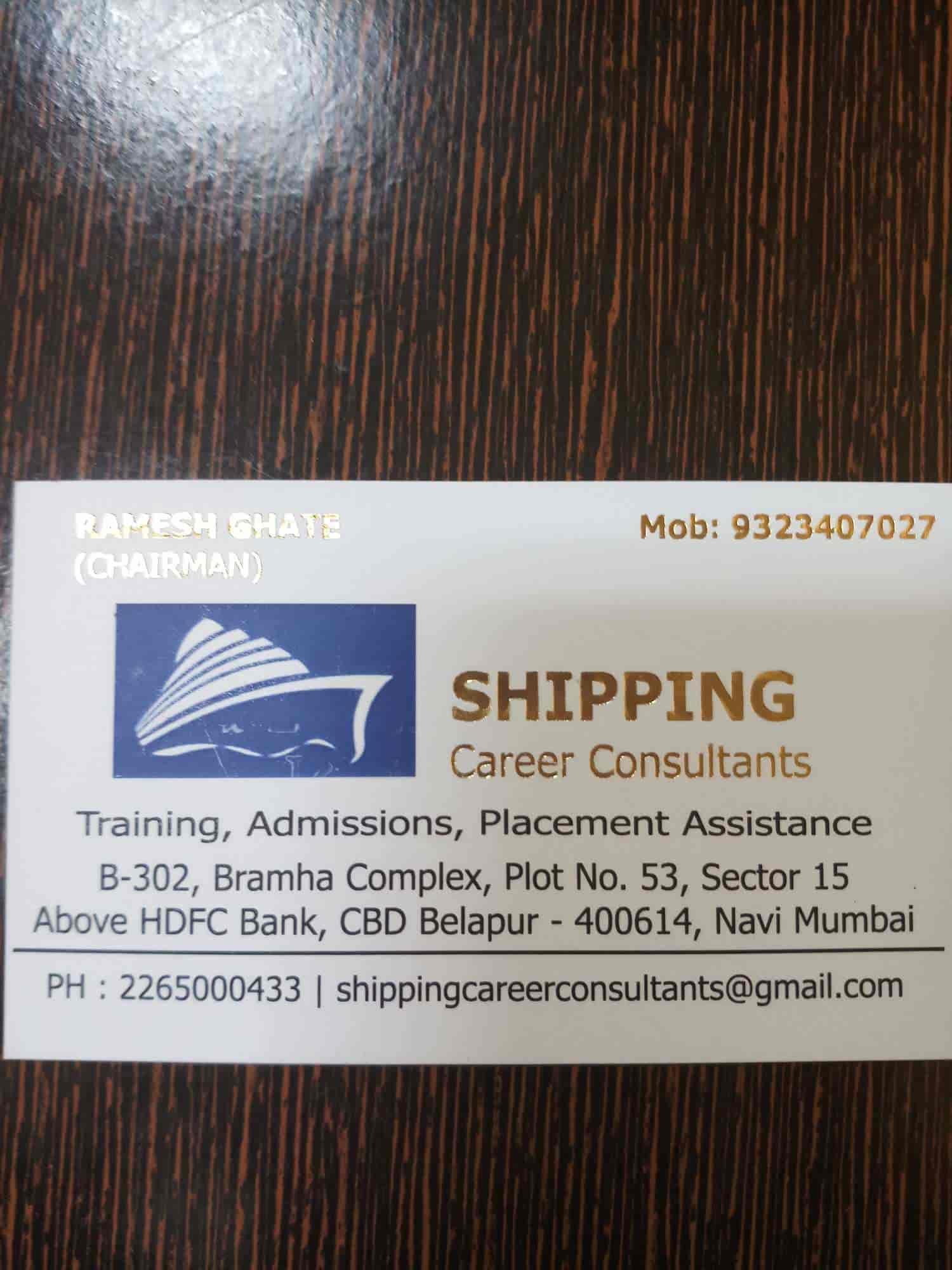 Shipping Career Consultants, Cbd Belapur Sector 15