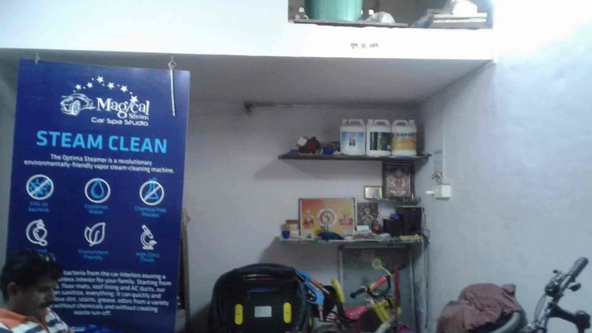 Magical Steam Car Spa Studio, Cbd Belapur - Car Polishing