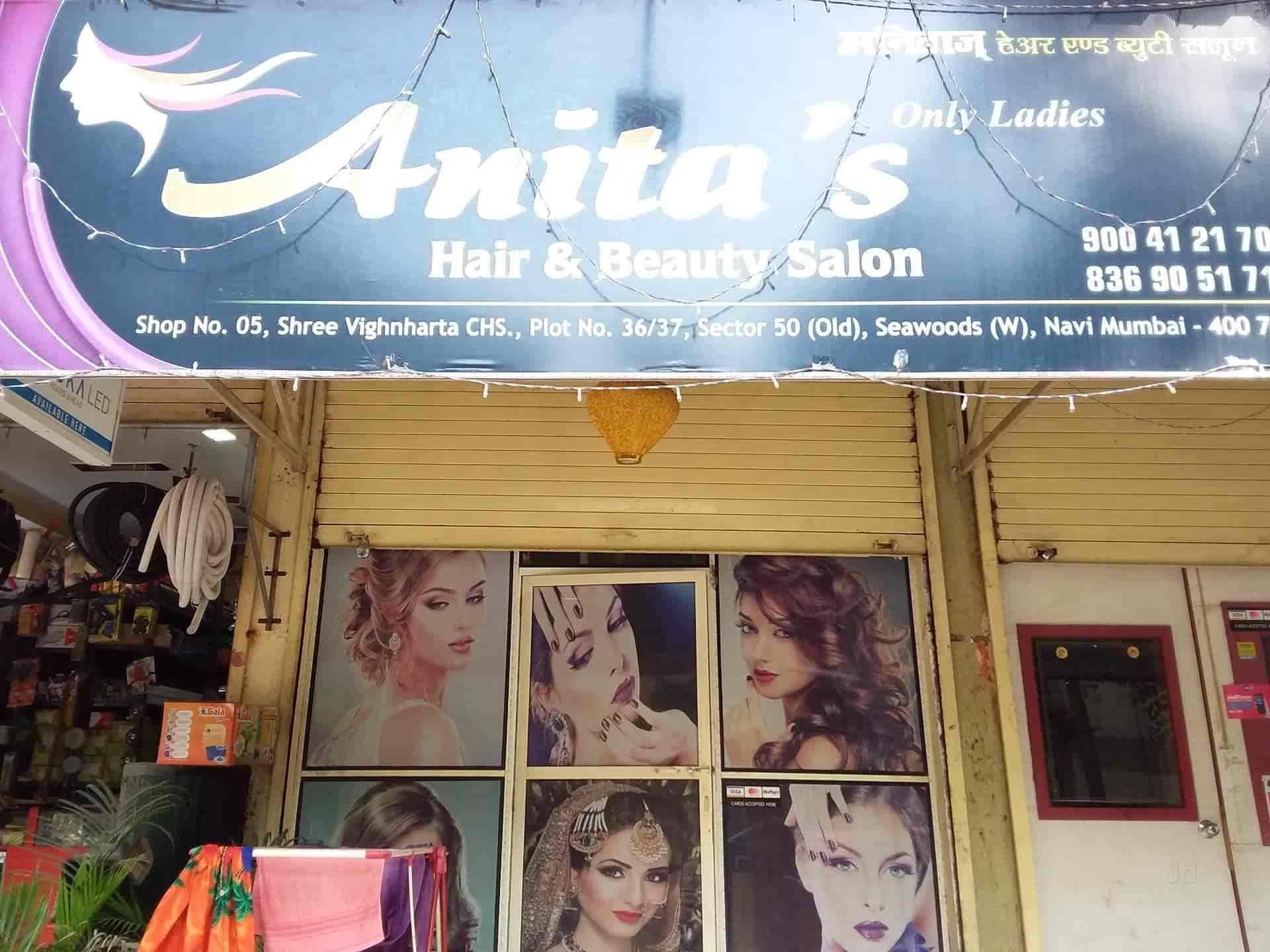 Anitas Hair Beauty Salon Photos, Seawoods, Navi-Mumbai