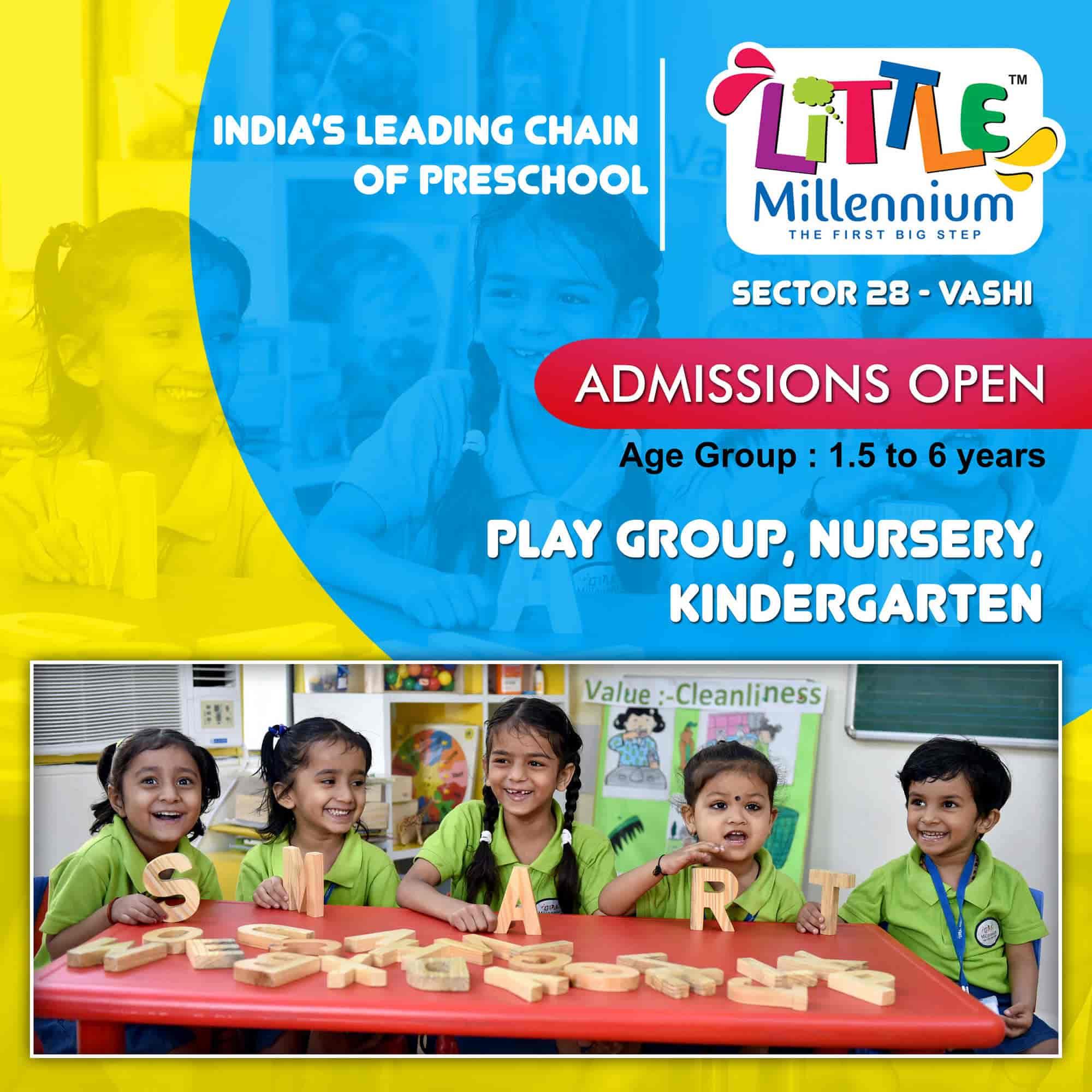 Little Millennium, Vashi Sector 28 - Nursery Schools in Navi