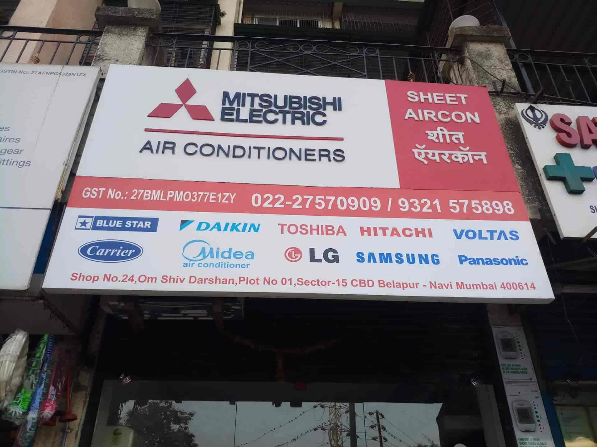 Sheet Aircon, Cbd Belapur - AC Dealers in Navi Mumbai, Mumbai - Justdial