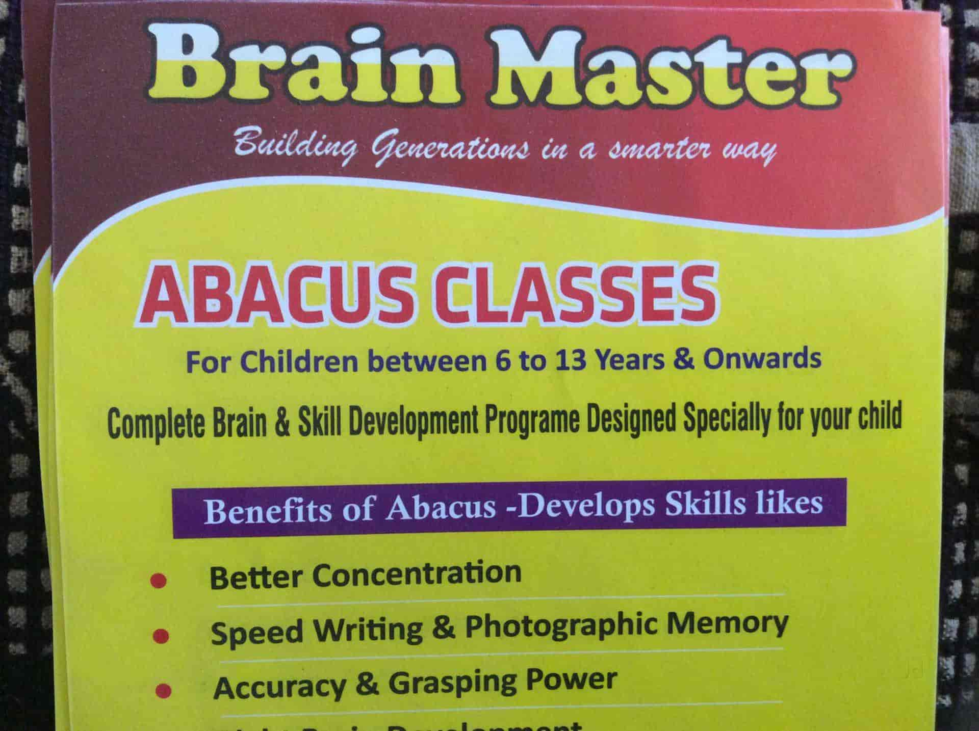 Brainmasters Abacus And Vedic Maths Classes Takka Colony Panvel Tutorials In Navi Mumbai Mumbai Justdial