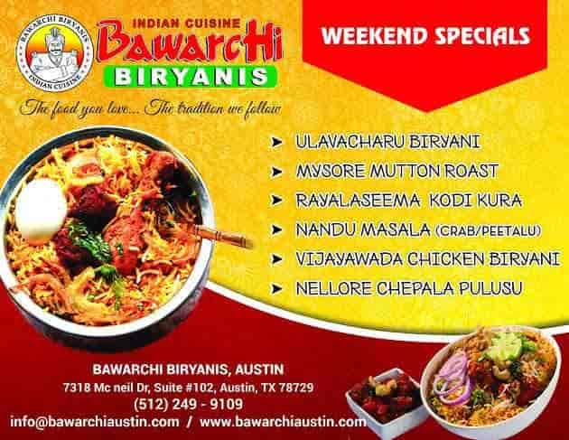 R Bawarchi 2, Vedayapalem - Hyderabadi Restaurants in
