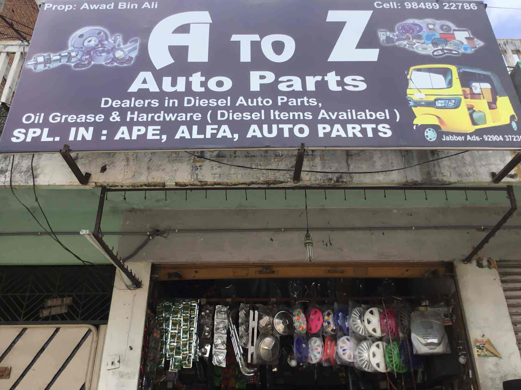 A To Z Auto Parts >> A To Z Auto Parts Photos Malapally Nizamabad Pictures Images