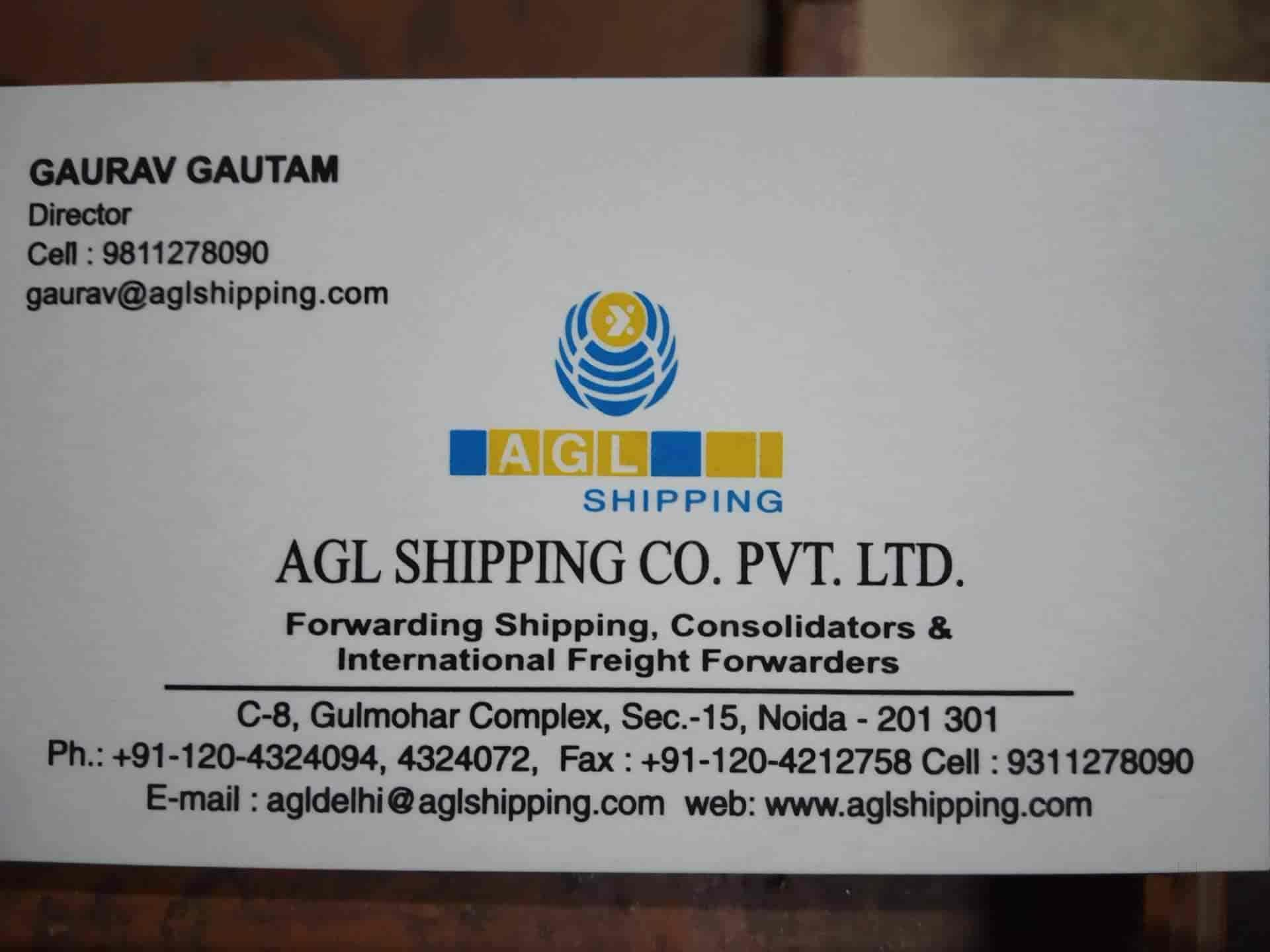 Agl Shipping Co Pvt Ltd Photos, Sector 15, Noida- Pictures