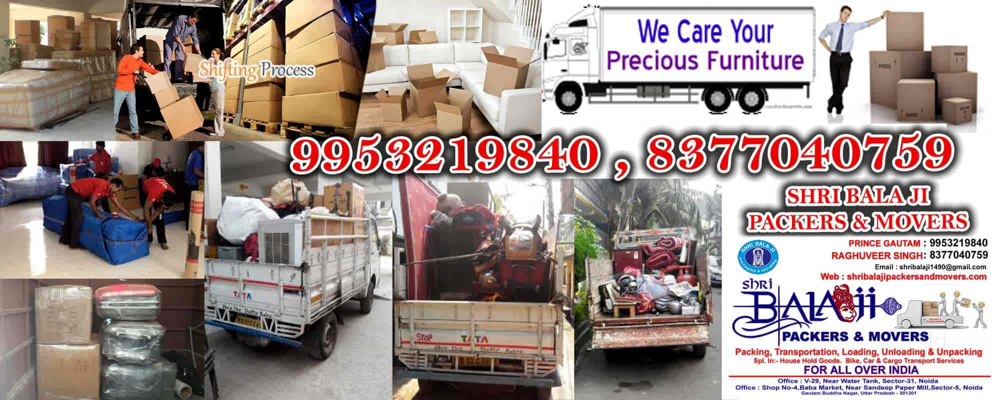Shri Balaji Packers & Movers, Noida Sector 31 - Packers