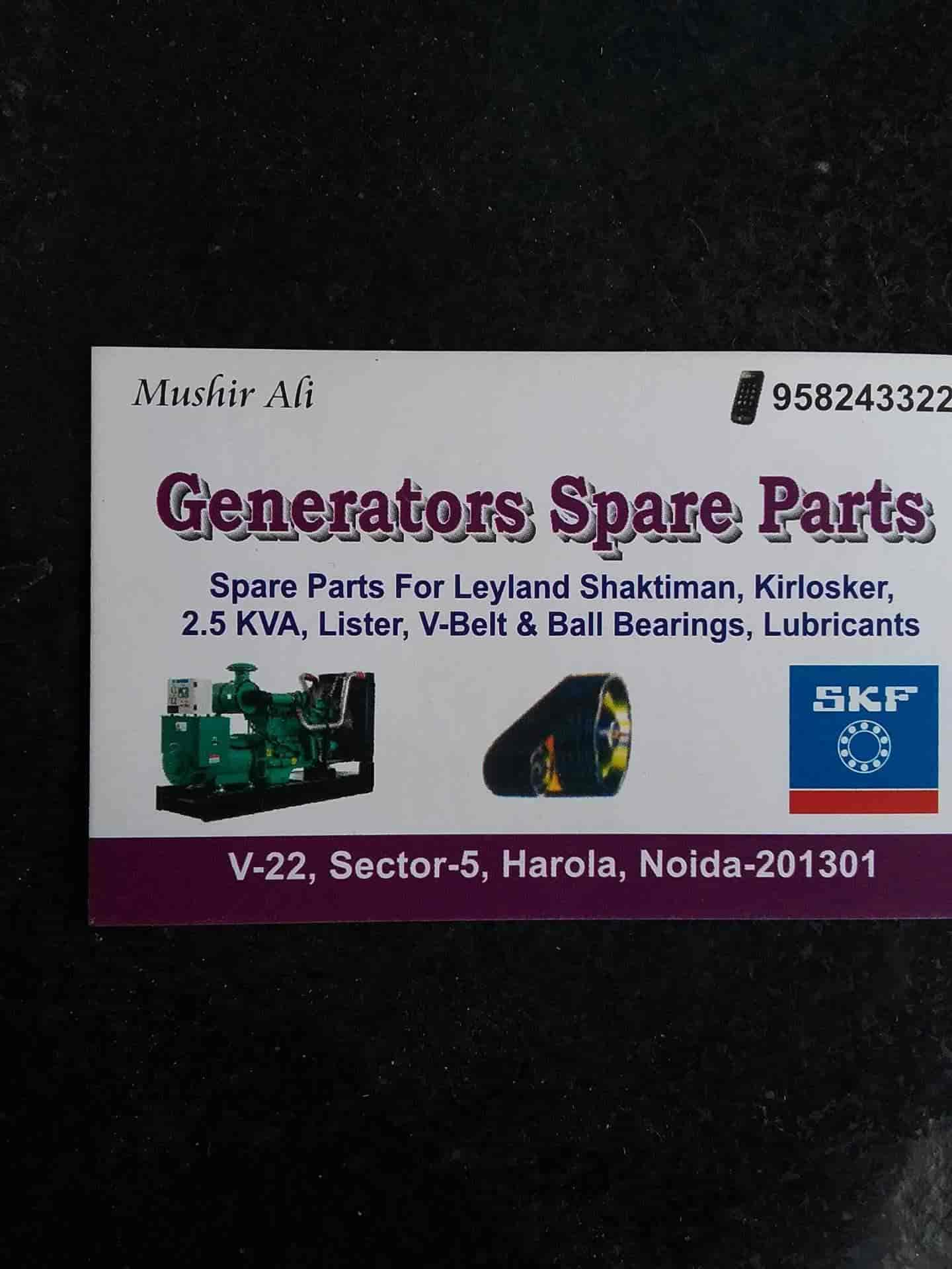 Generator Spare Part Photos, Sector 5, Noida- Pictures & Images