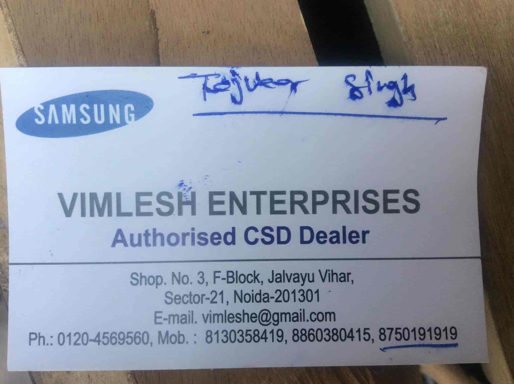 Vimlesh Enterprises, Noida Sector 21 - Refrigerator Dealers