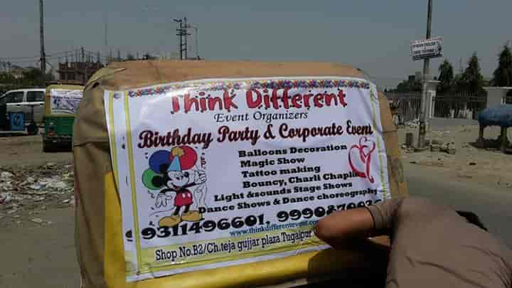 Think Different Event & Entertainment, Greater - Birthday Party