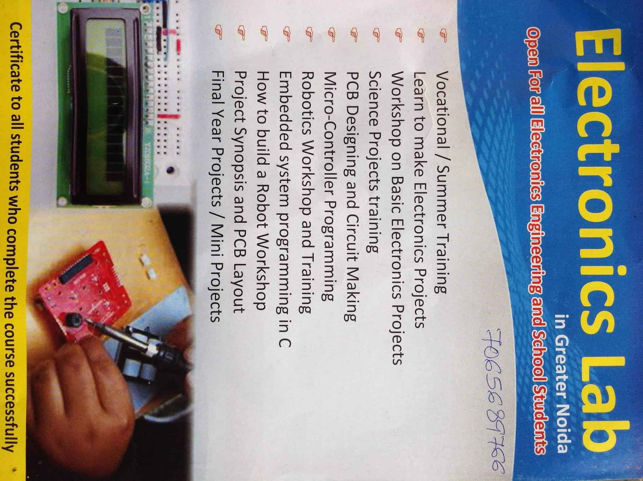 Computronics Lab Rampur Jagir Project Consultants In Delhi Justdial Basic Electronics Projects