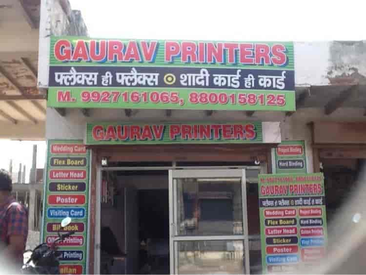 Gaurav printers greater noida gourav printers printers for visiting card in delhi justdial