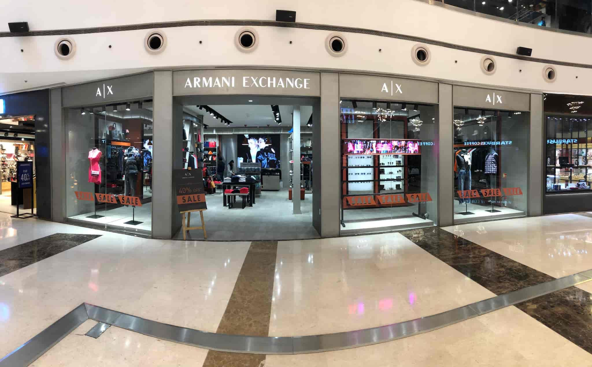 separation shoes 33398 b3c4d Armani Exchange, Noida - Jeans Retailers in Noida, Delhi ...