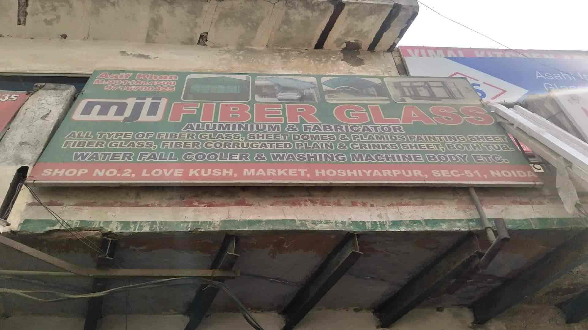 Mji Fiber Glass, Noida Sector 51 - Fibre Sheet Dealers in Noida
