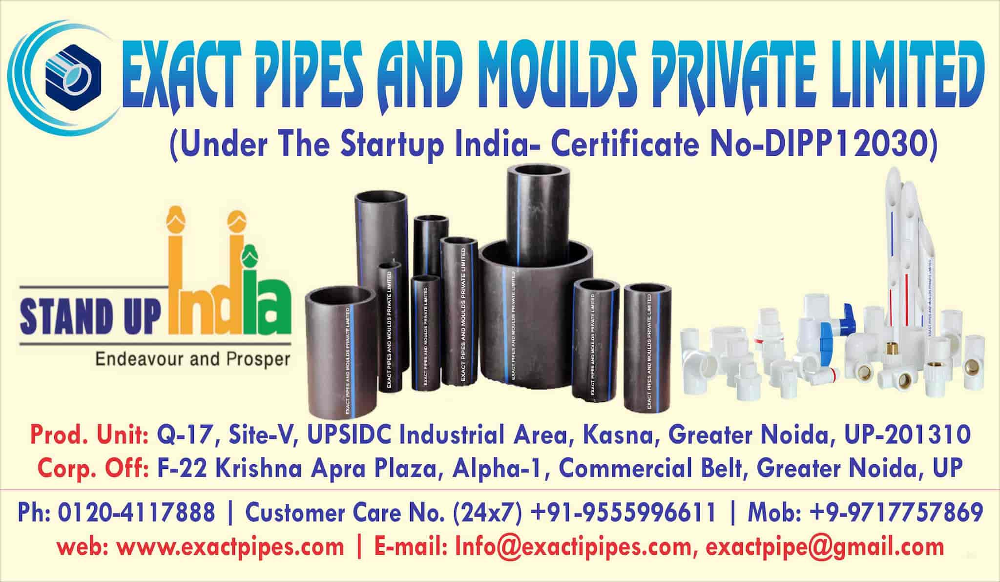 Exact Pipes And Moulds Pvt Ltd Photos, Greater, Noida