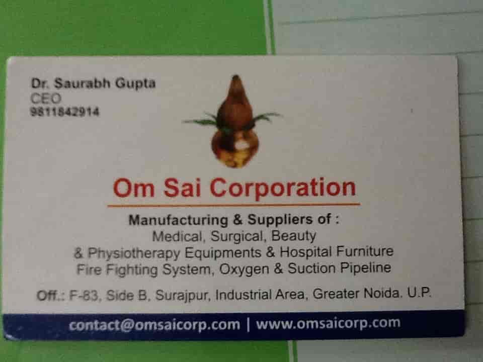 Om Sai Corporation, Surajpur Industrial Area - Hospital