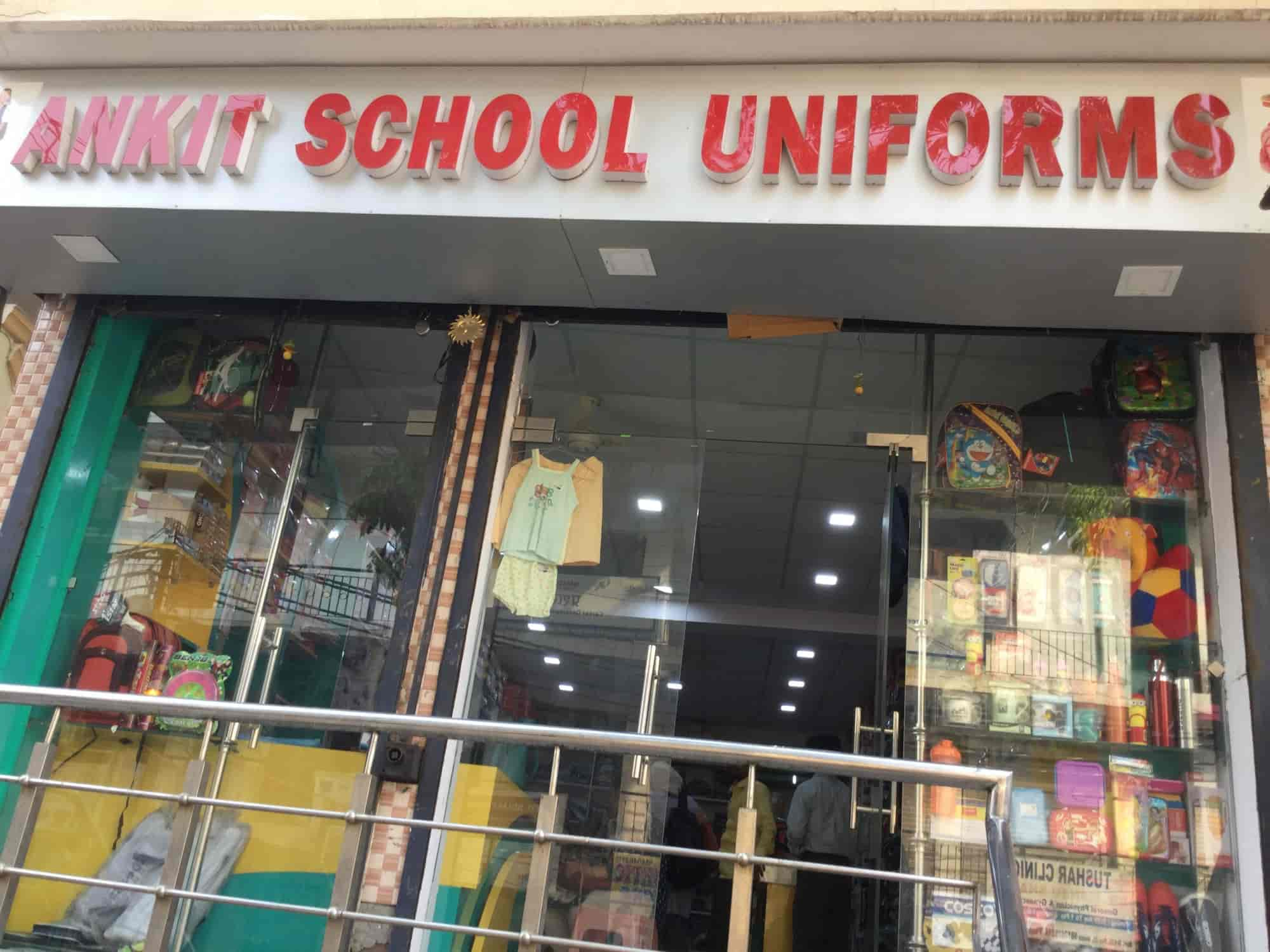 79c12d5e947 Front View of School Uniform Shop - Ankit School Uniform Photos