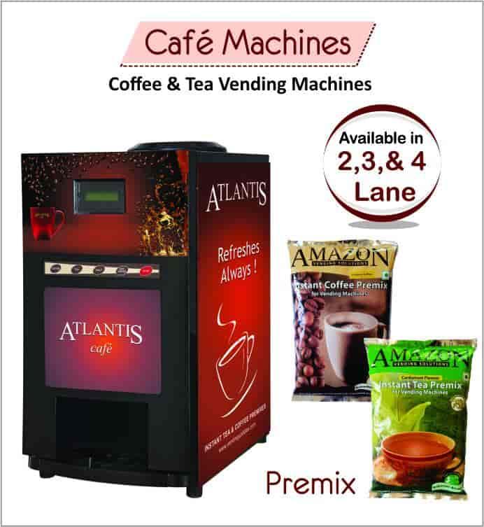 Atlantis E Premix Coffee Machines Sector 88 Vending Machine Dealers Lavazza In Delhi Justdial
