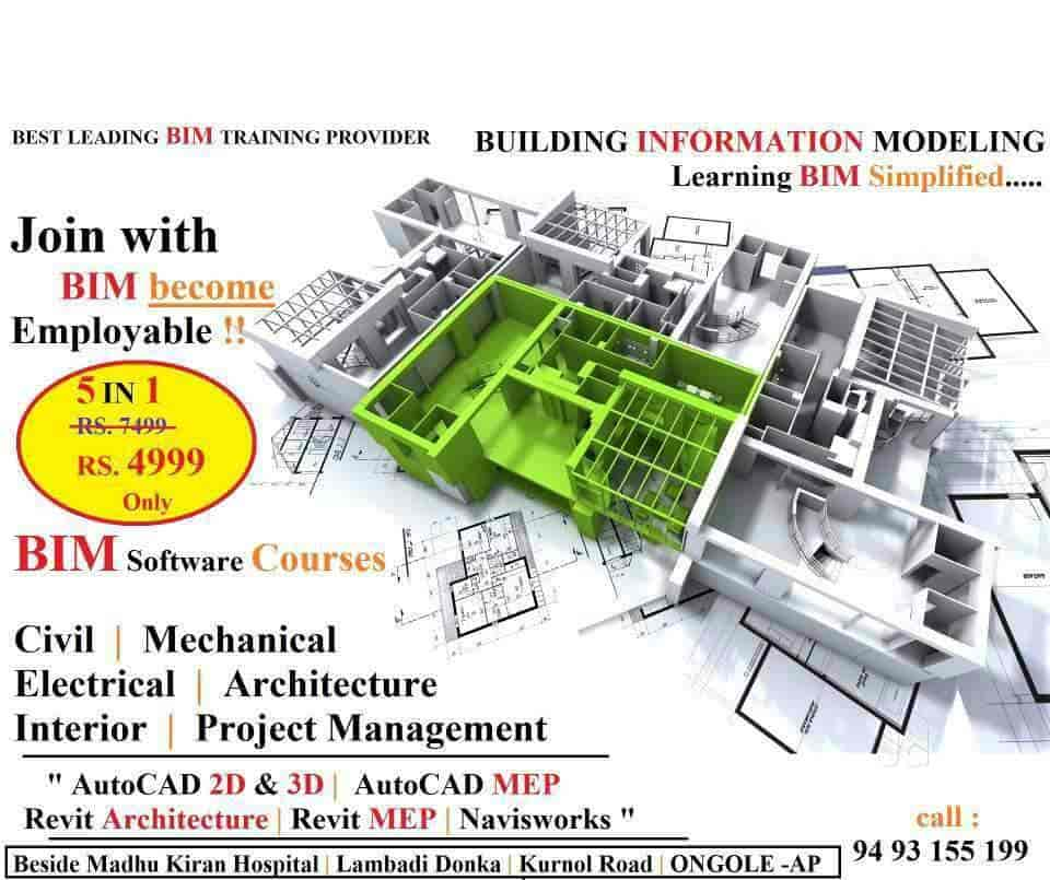 BIM Revit Architecture Simplified Learning Courses, Ongole