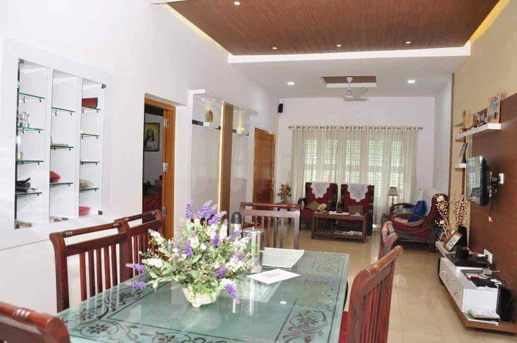 ... Living Room Renovated Pic   Aesthetic Interiors And Designers Photos, ,  Palakkad   Architects ...