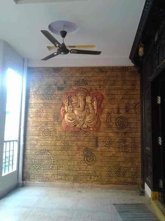 Our Wall Paper Work   Palette Interior WALL Designs Photos, Peruvemba,  Palakkad   Interior ...