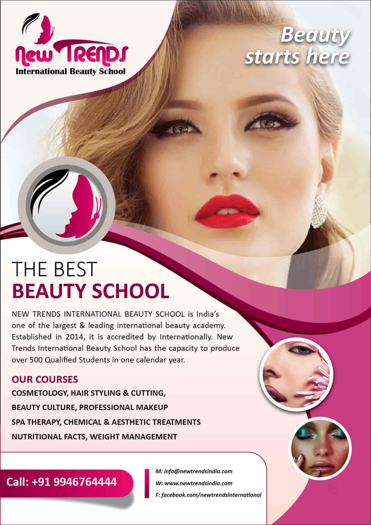 New Trends International Beauty School, Kallekkad - Beauty
