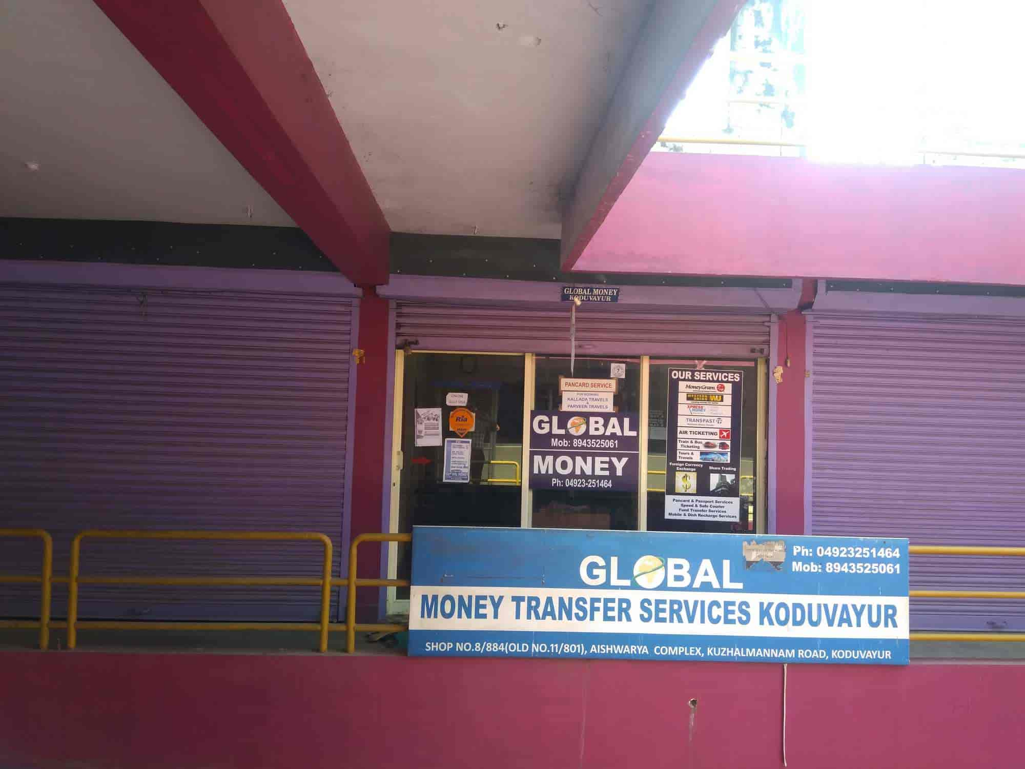 Front View Global Money Transfer Services Photos Koduvayur Pald Travel Agents