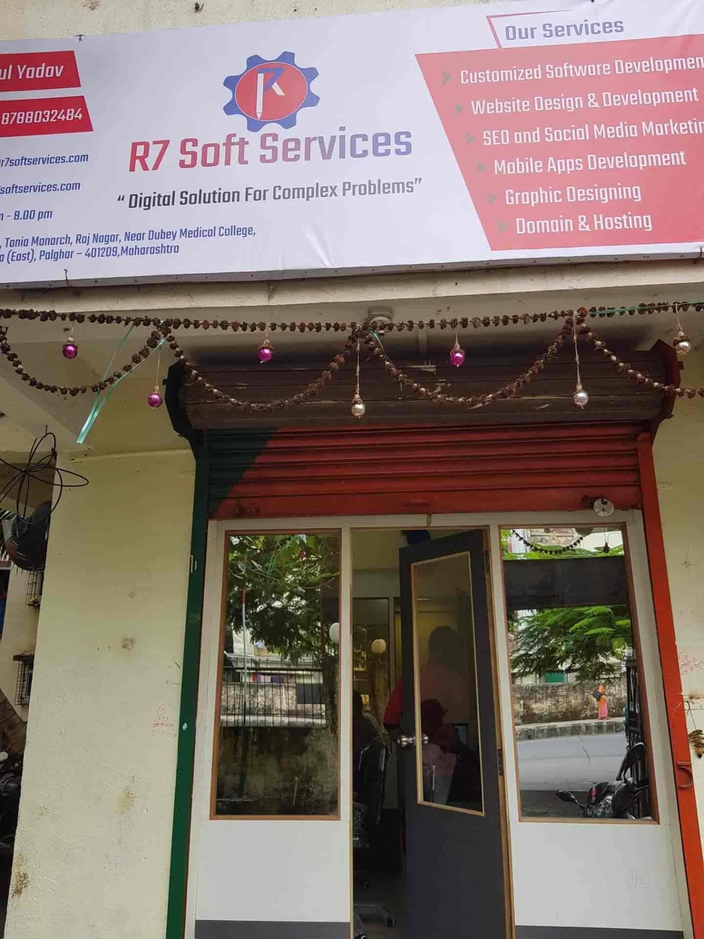 R7 Soft Services Nalasopara East Internet Website Designers In Palghar Mumbai Justdial